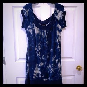 Robbie Bee Signature Dress Blue Marble size 12